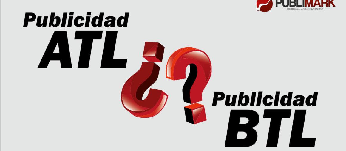 Diferencia entre Publicidad ATL y BTL